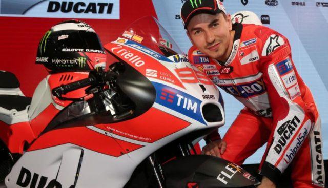 Jorge Lorenzo Ducati 2017